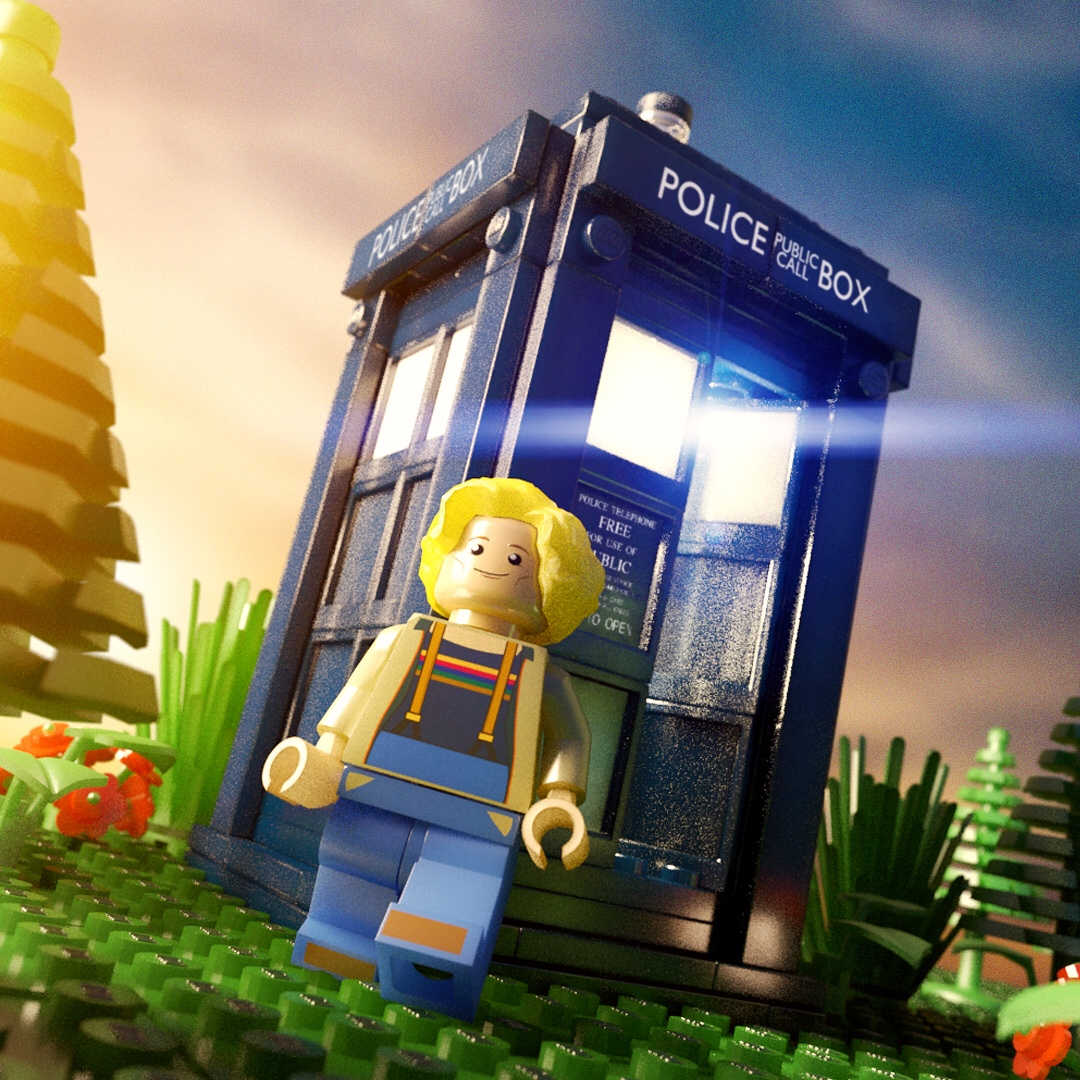 Made to show what the 13th Doctor would look like in Lego, now that her costume has been revealed.