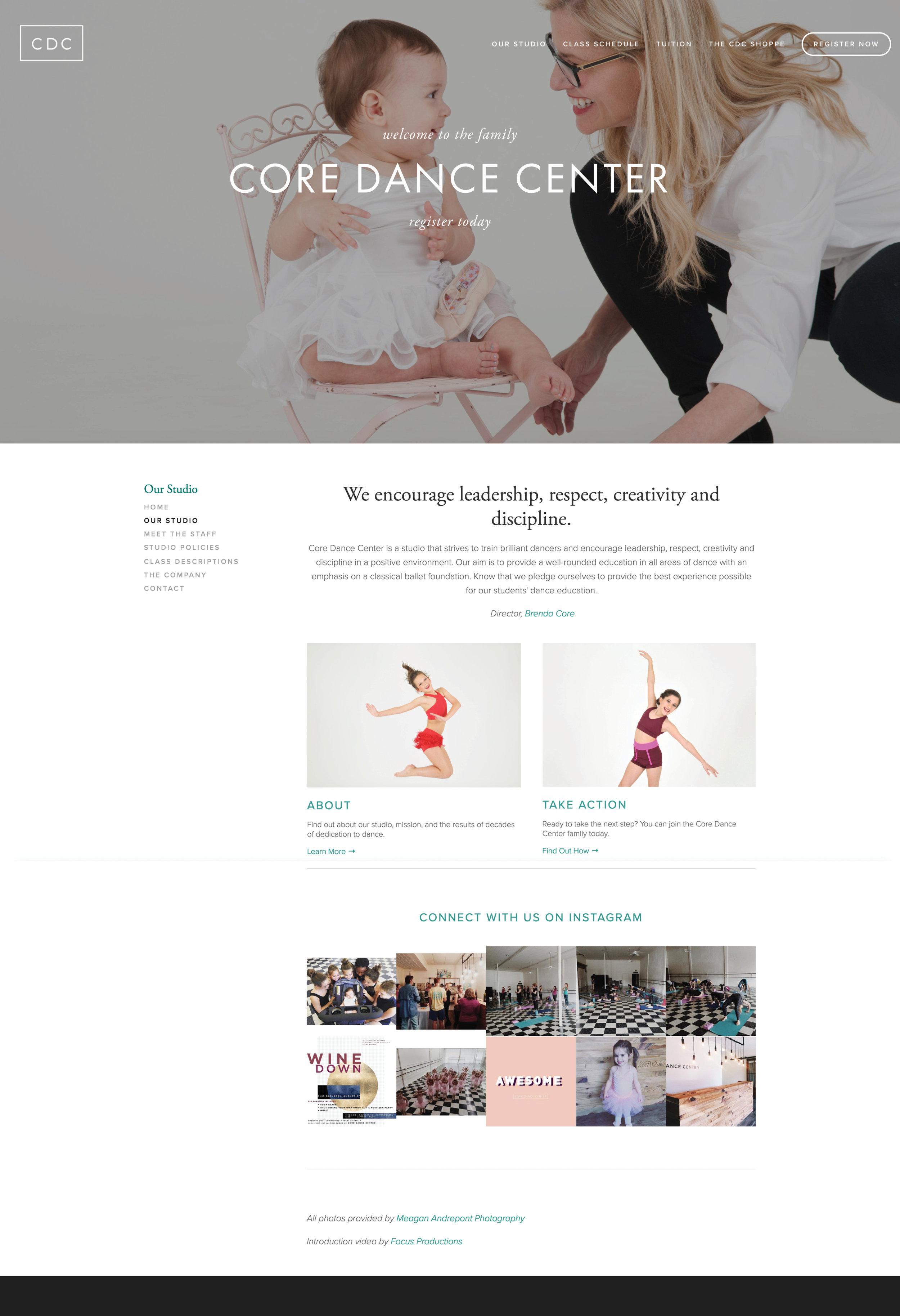 www.coredancecenter.com