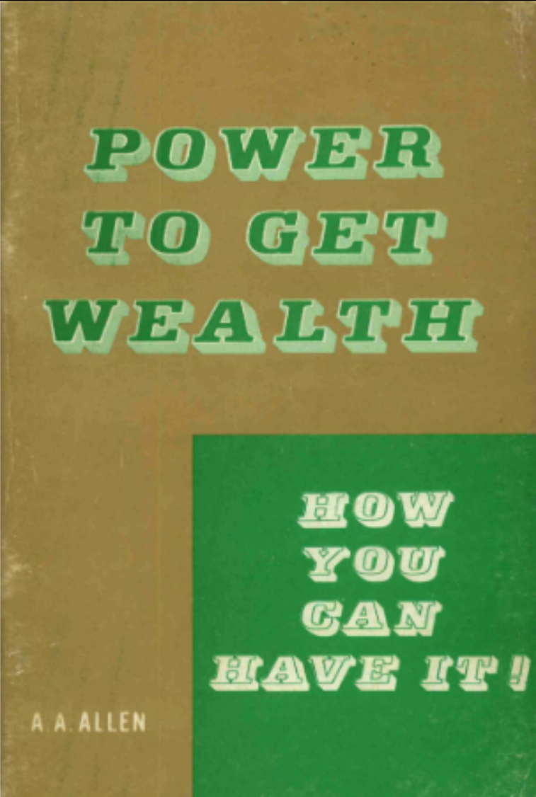 Evangelist A. A. Allen showes how you can get wealth according to Matthew 6:33