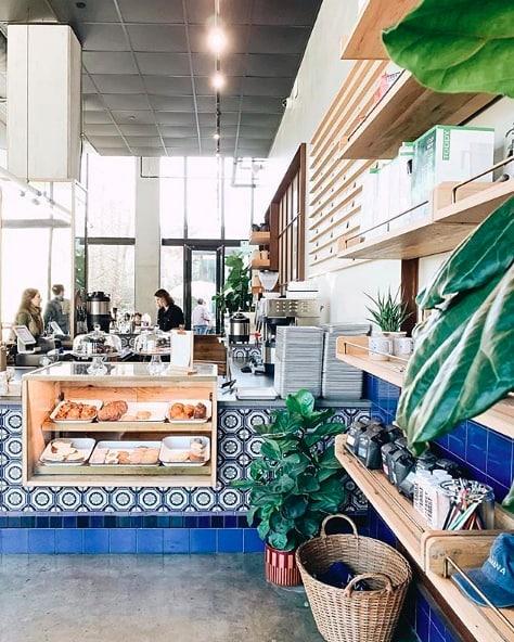 Coffee shop views at @mananaatx. ☕️ (pc:@sofengtastic)