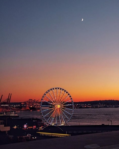 Hard to beat these Seattle views. ❤️ (pc:@romizis1802)