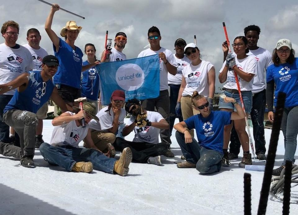 PHOTO COURTESY OF UNICEF USA - STUDENTS FROM CCNY AND SUNY
