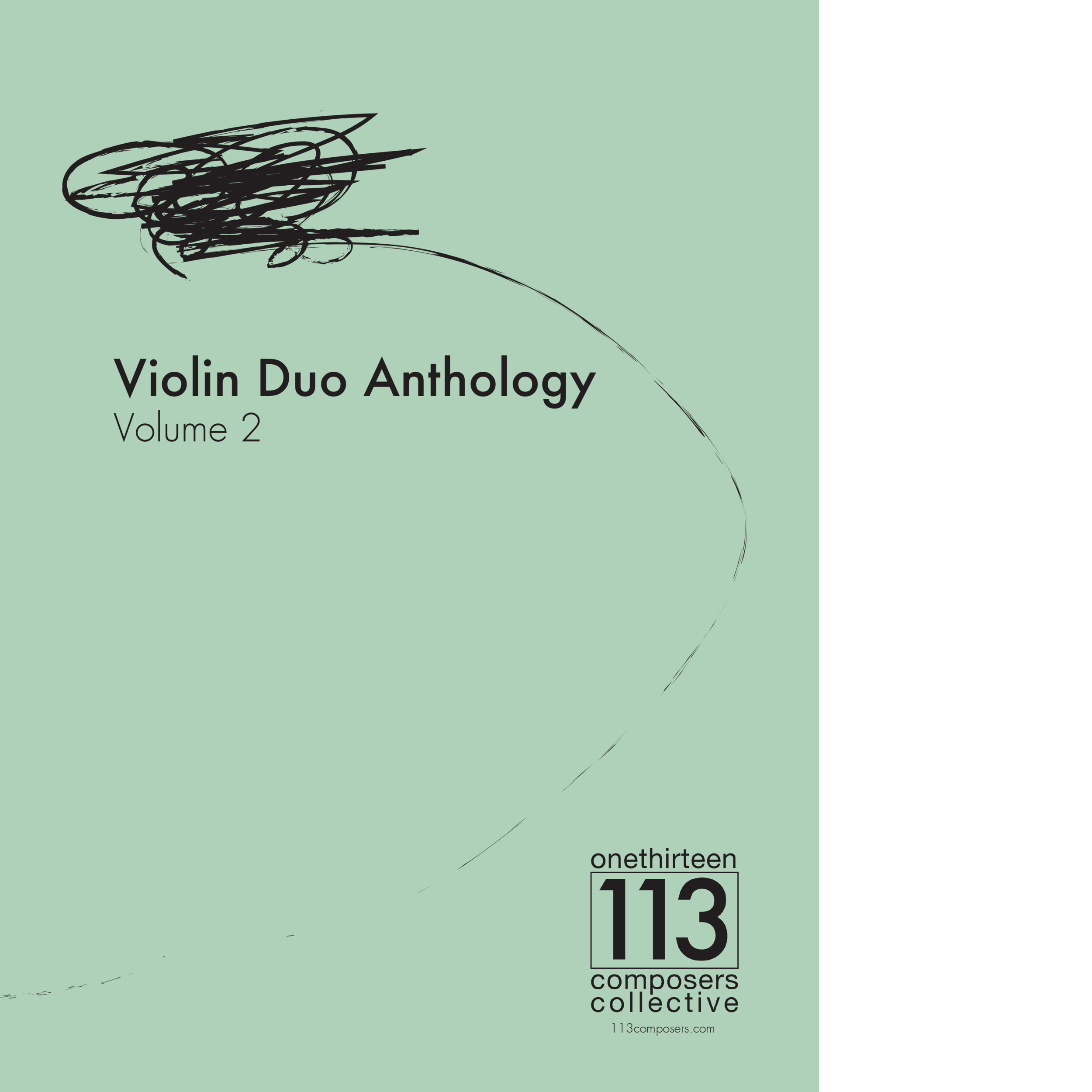 113 Violin Duo Anthology - Volume 2 Front Coversquare2.png
