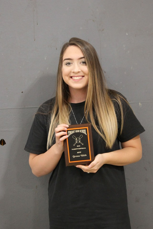 Brenna Welch - MVP, Softball