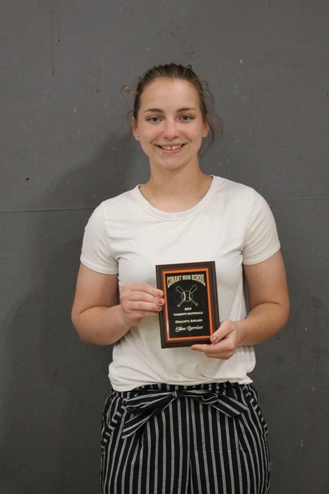 Silas Bernier - Coach's Award, Softball