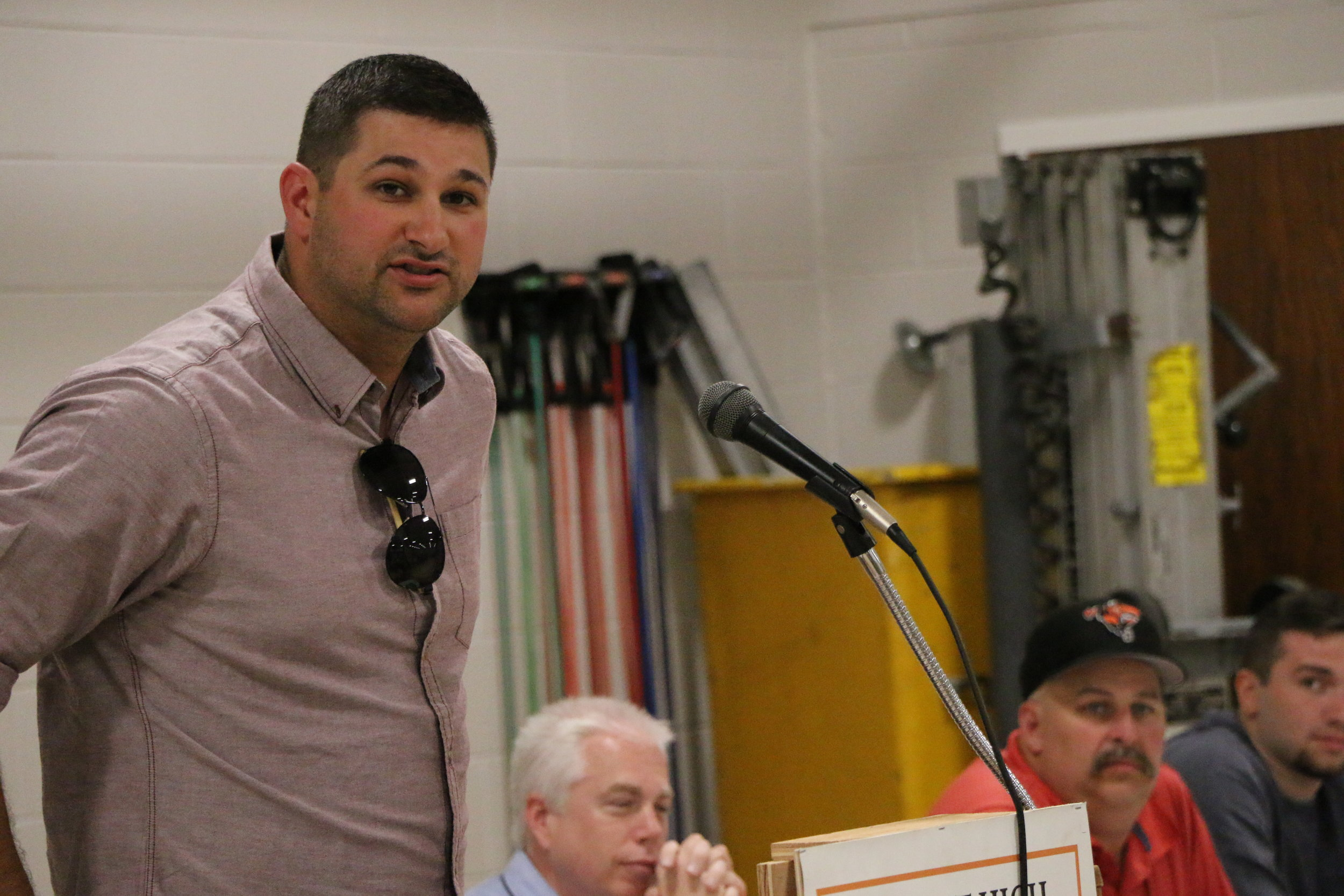 Varsity Baseball Coach Arric Mather