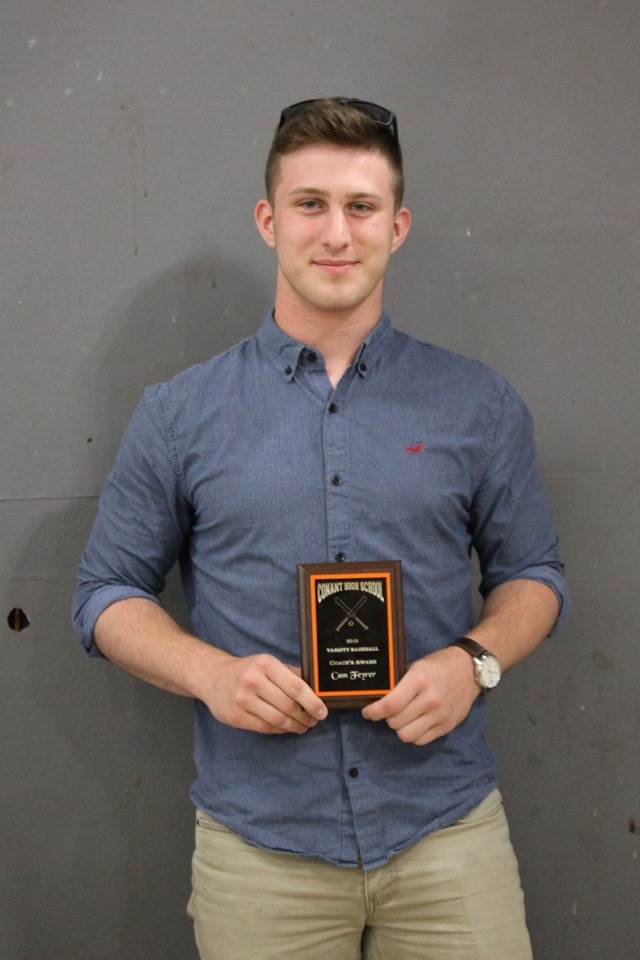 Cam Feyrer - Coach's Award, Varsity Baseball