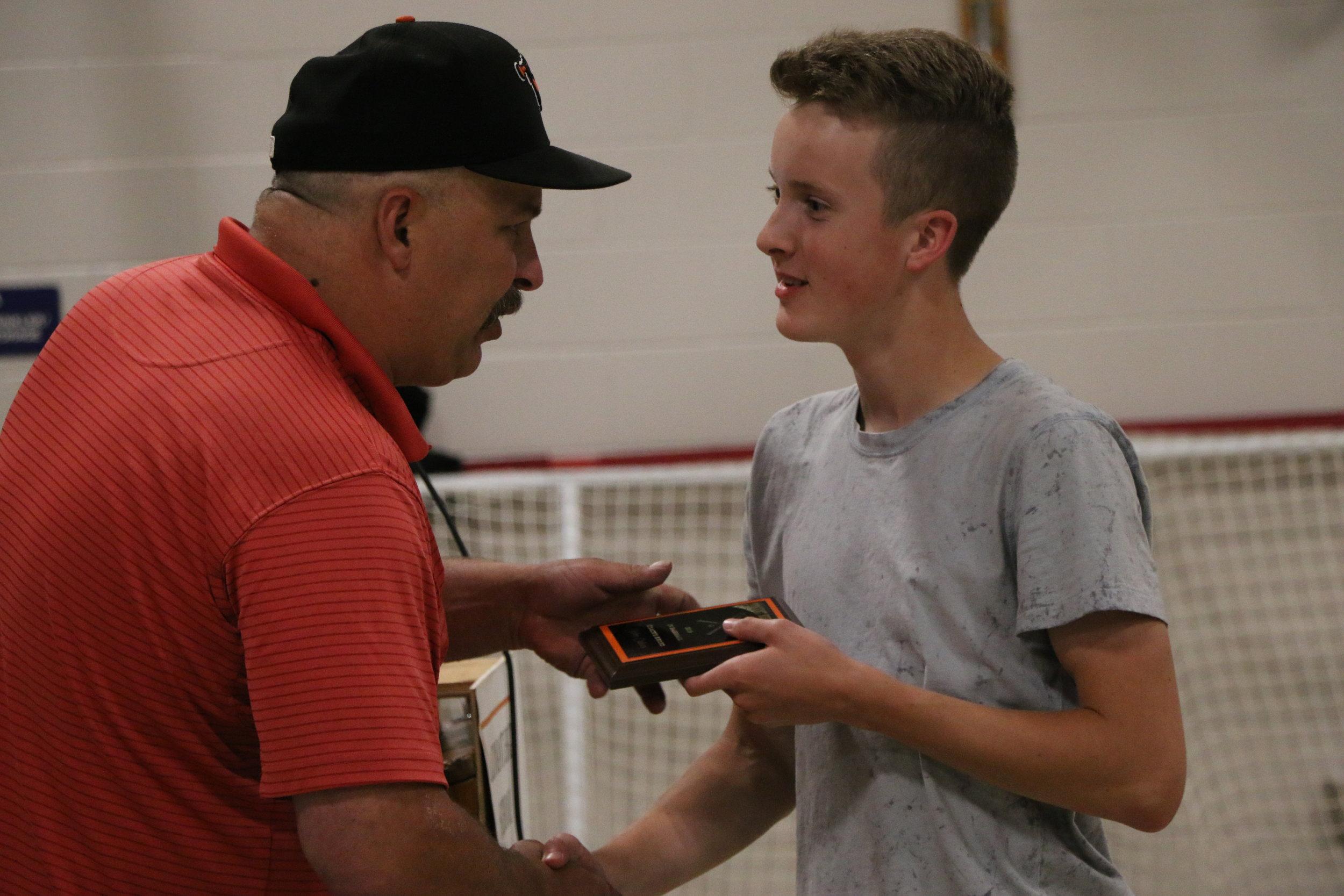 John Oakes - Coach's Award, JV Baseball