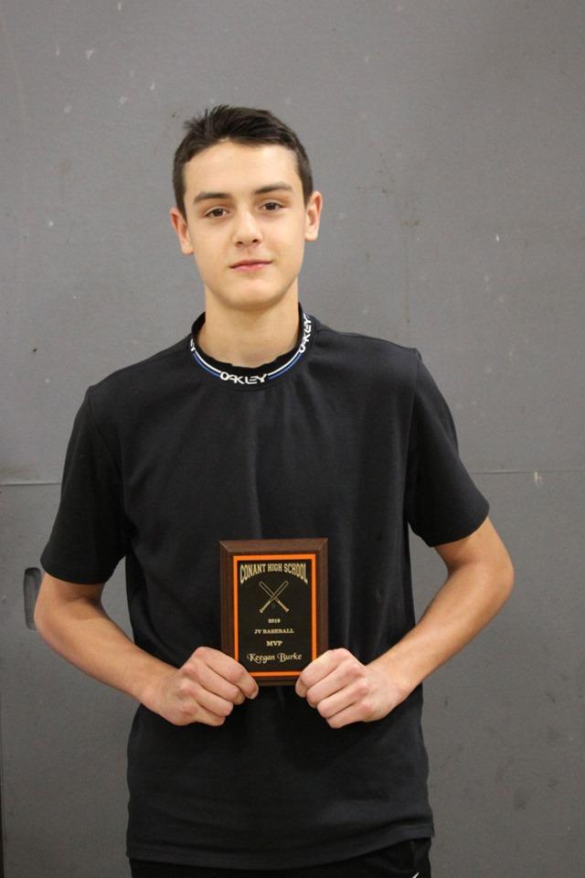 Keegan Burke - MVP, JV Baseball