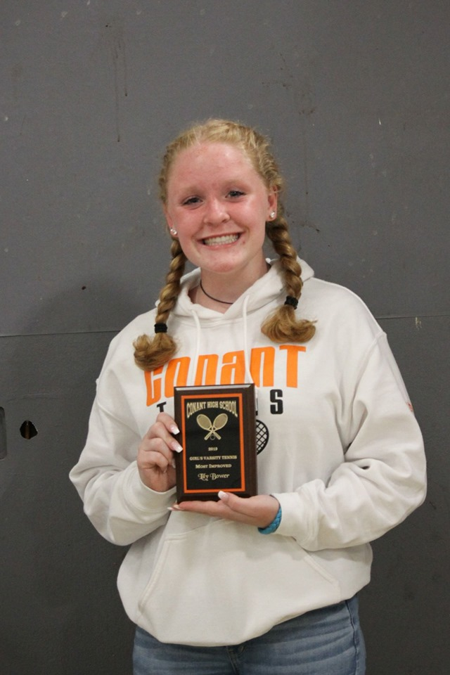 Lily Bower - Most Improved Player, Girls Varsity Tennis