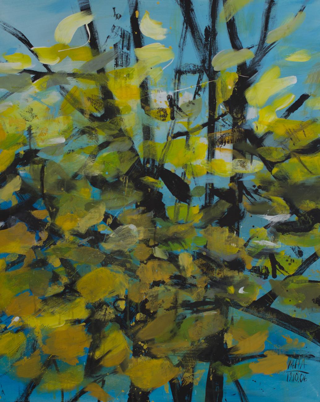 Herbst 1 , 2006,Acryl auf Leinwand, 80x100 cm