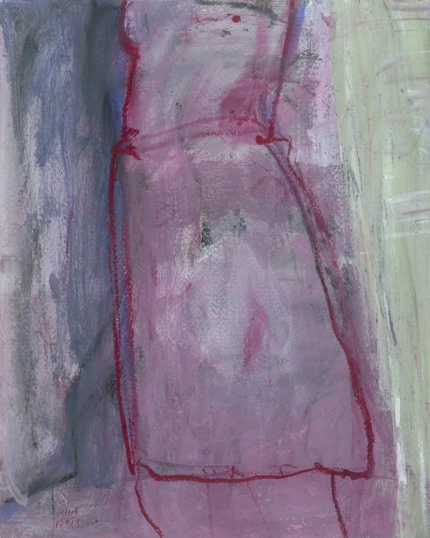 01  VIOLETTA, 2005, Acryl auf Papier, 24x30 cm