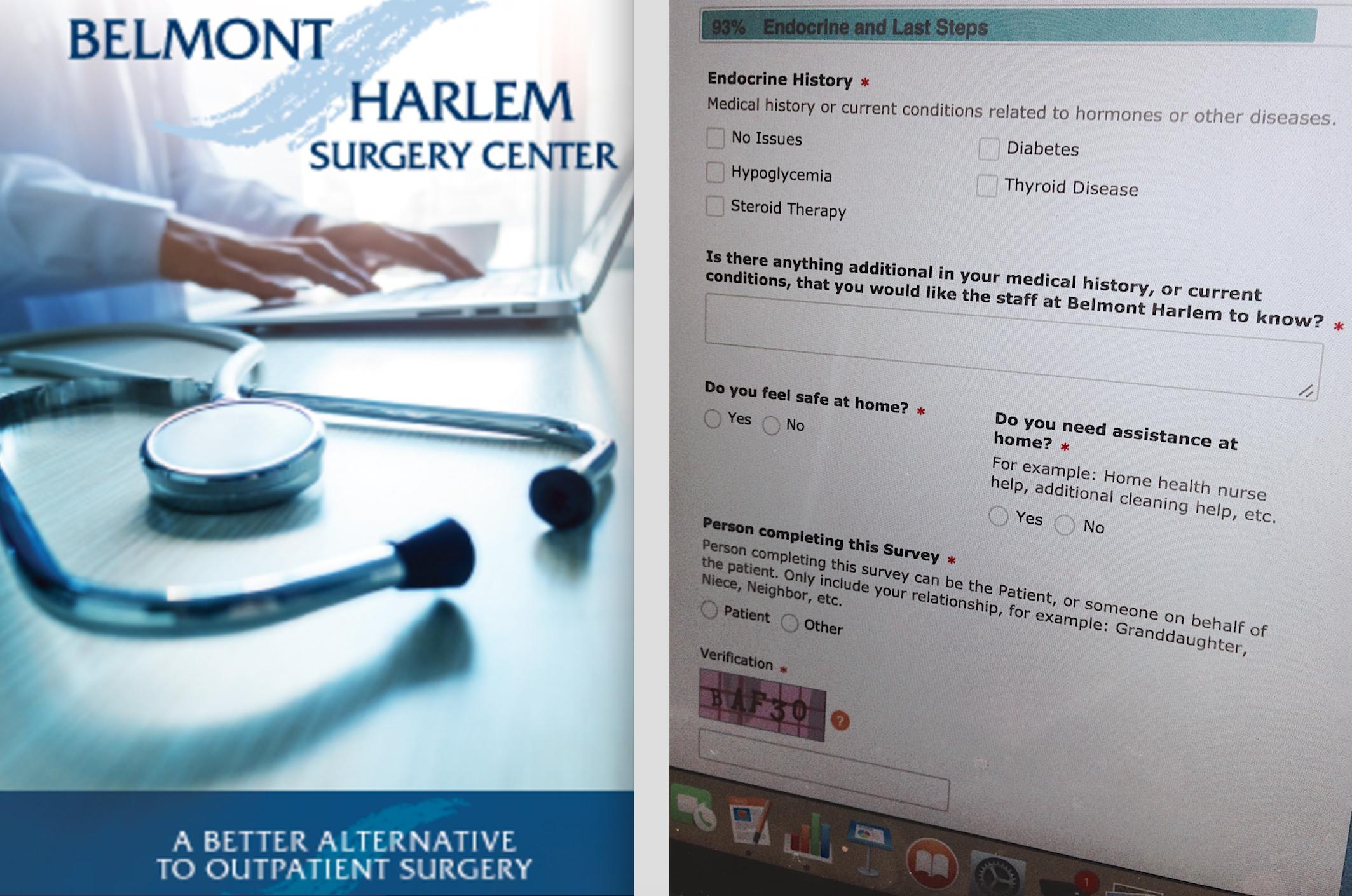 web services | patient portal | survey | health history