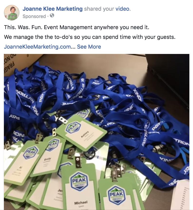 Business-Event-management-Chicago-Joanne-Klee-Marketing
