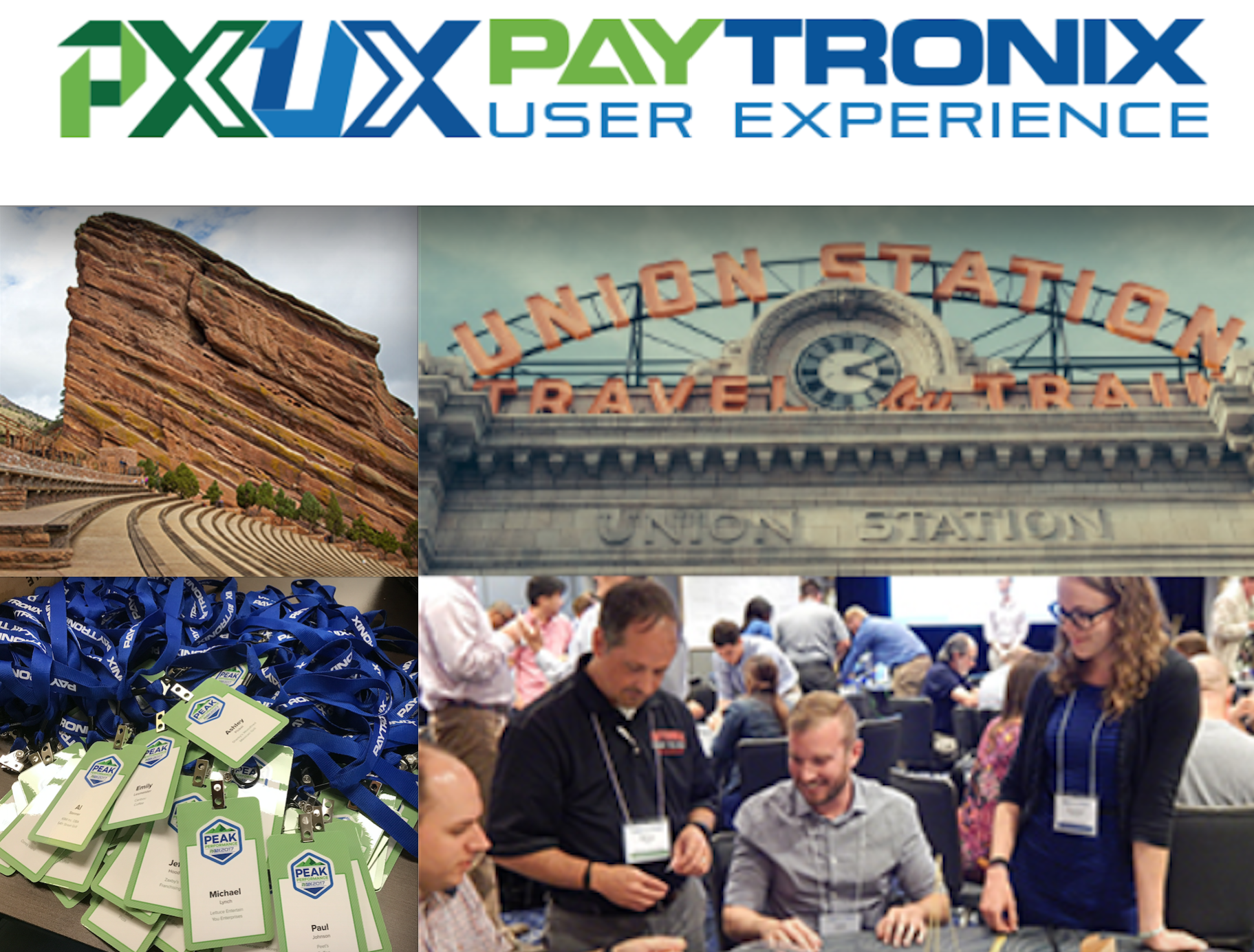 Paytronix Business Conference Event Planning