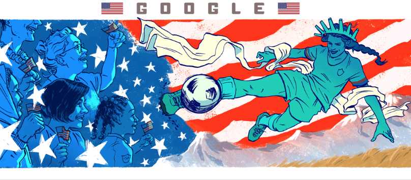 We Honor Our Lady Liberty and the Women's World Cup This is Not Irony Joanne Klee Marketing