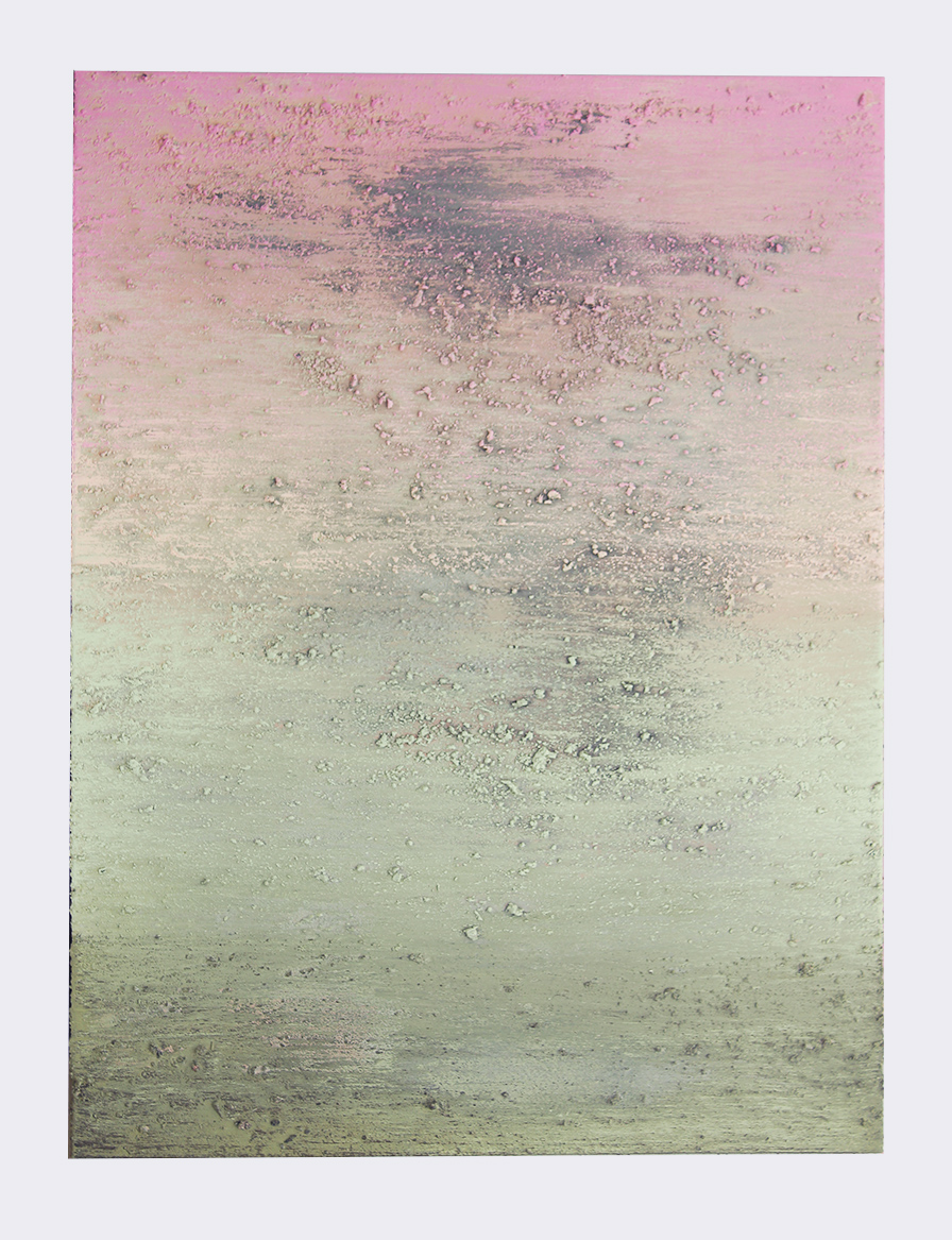 """Early Winter (it's still beautiful)  48"""" x 36"""" latex and chimney ash on canvas"""
