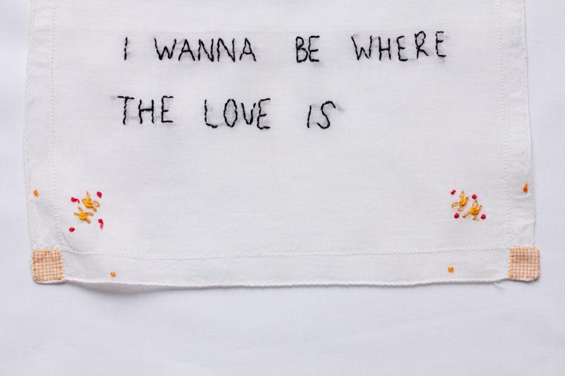 I wanna (detail)