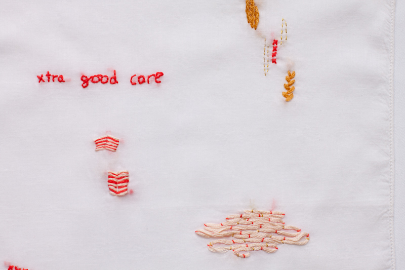 feel good sampler (detail)
