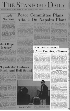 The Stanford Daily , January 24, 1966