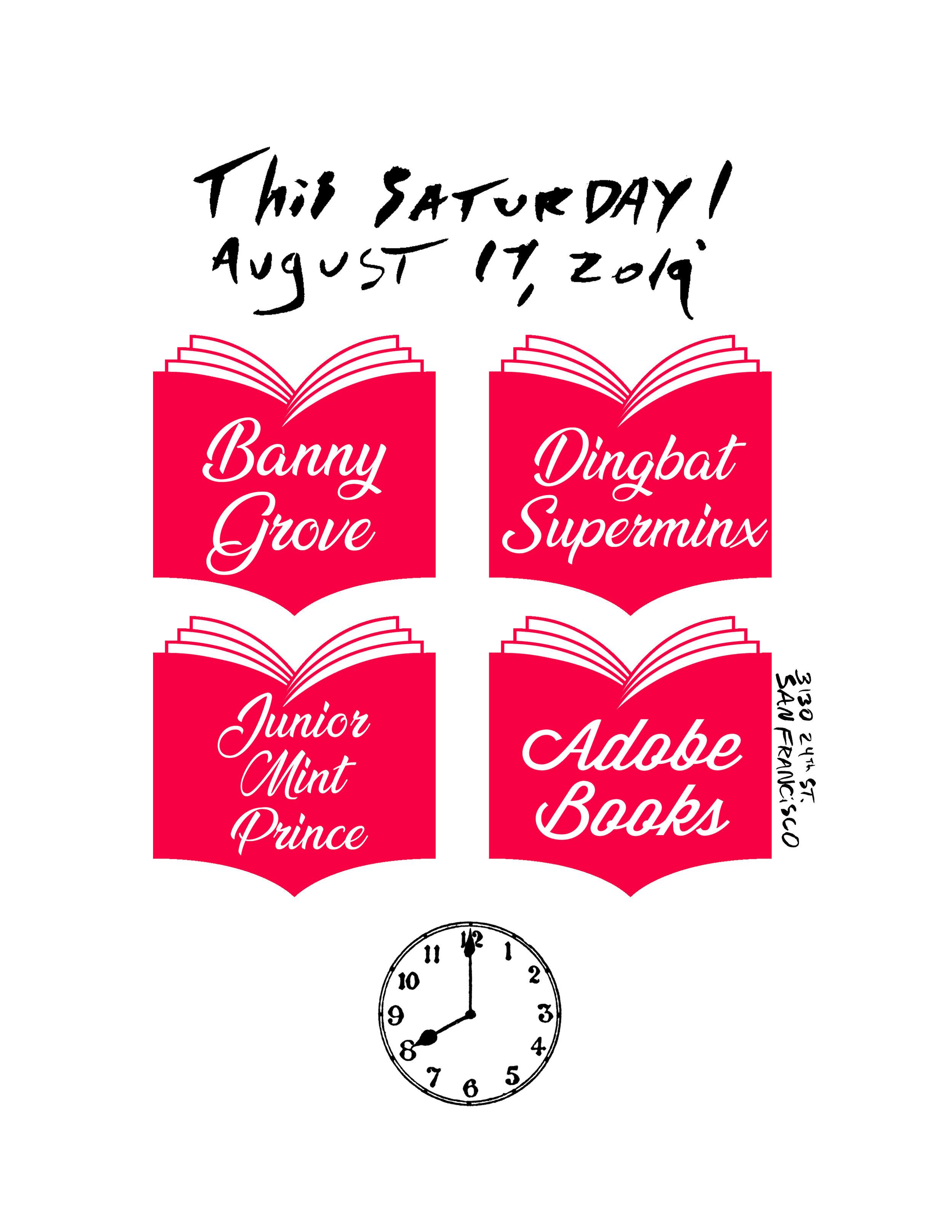 Banny Grove / Dingbat Superminx / Junior Mint Prince