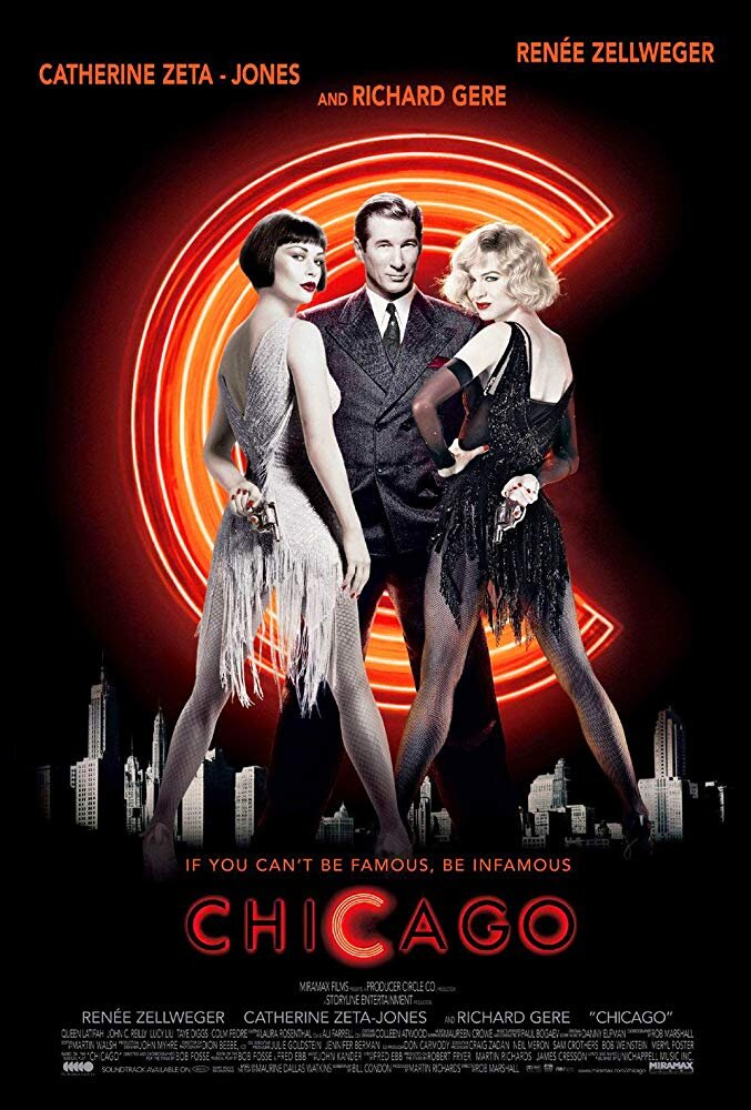 "Chicago - Whenever we are getting ready for a trial, Katherine likes to think about Richard Gere singing: ""Give 'em the old razzle dazzle!"" We practice law a fair bit more ethically than Gere does in this movie, but who doesn't love a musical about murder?"