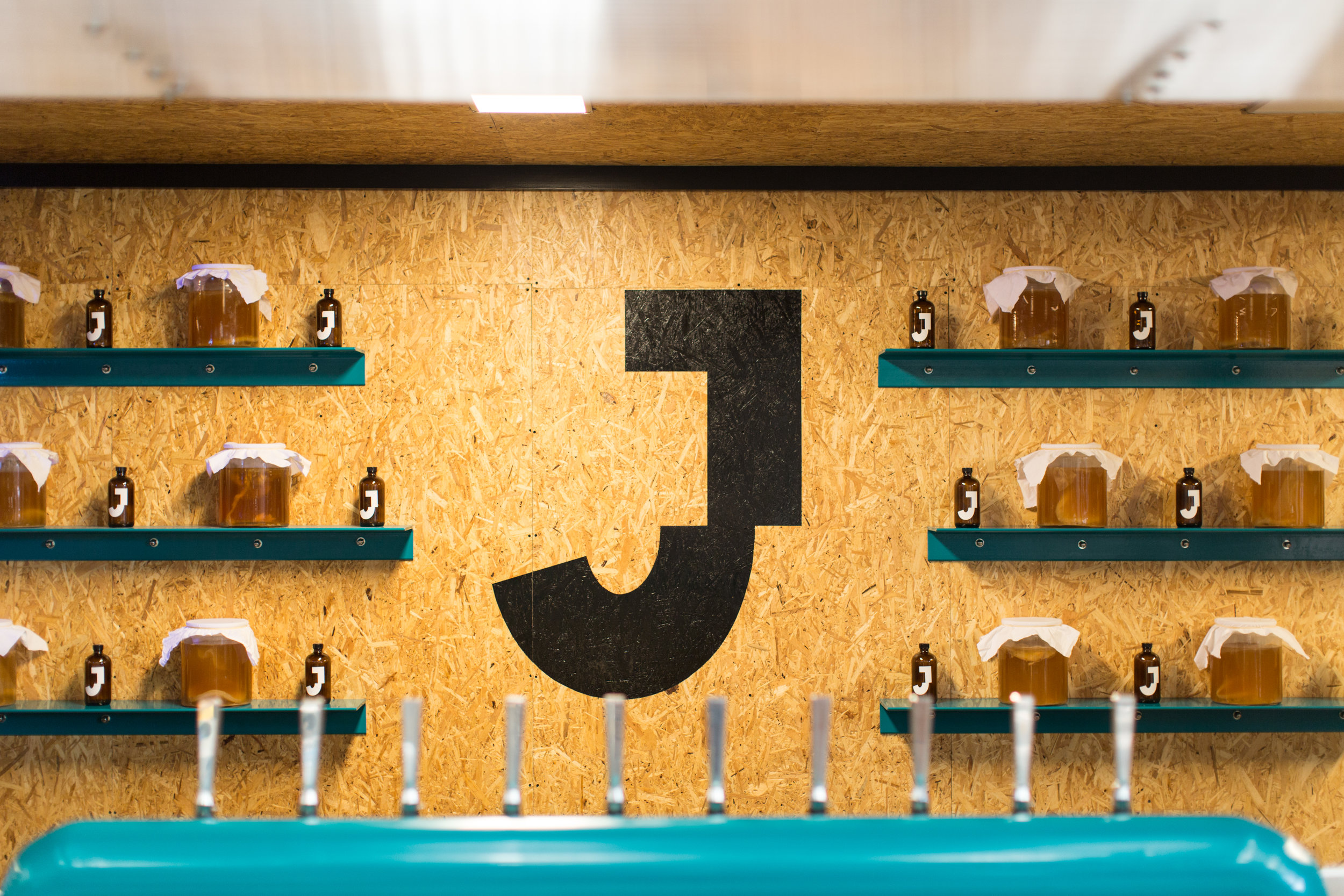 The Jarr Bar features several flavors of booch on draft. Photo by Adam Vanni.