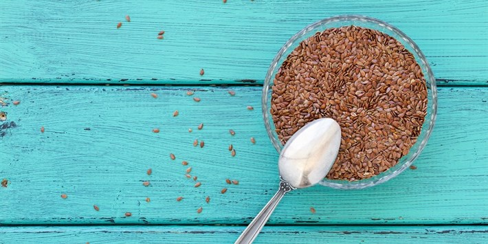 Flax seeds are full of healthy PUFAs, which is why they're cold pressed and kept refrigerated when turned into oil.