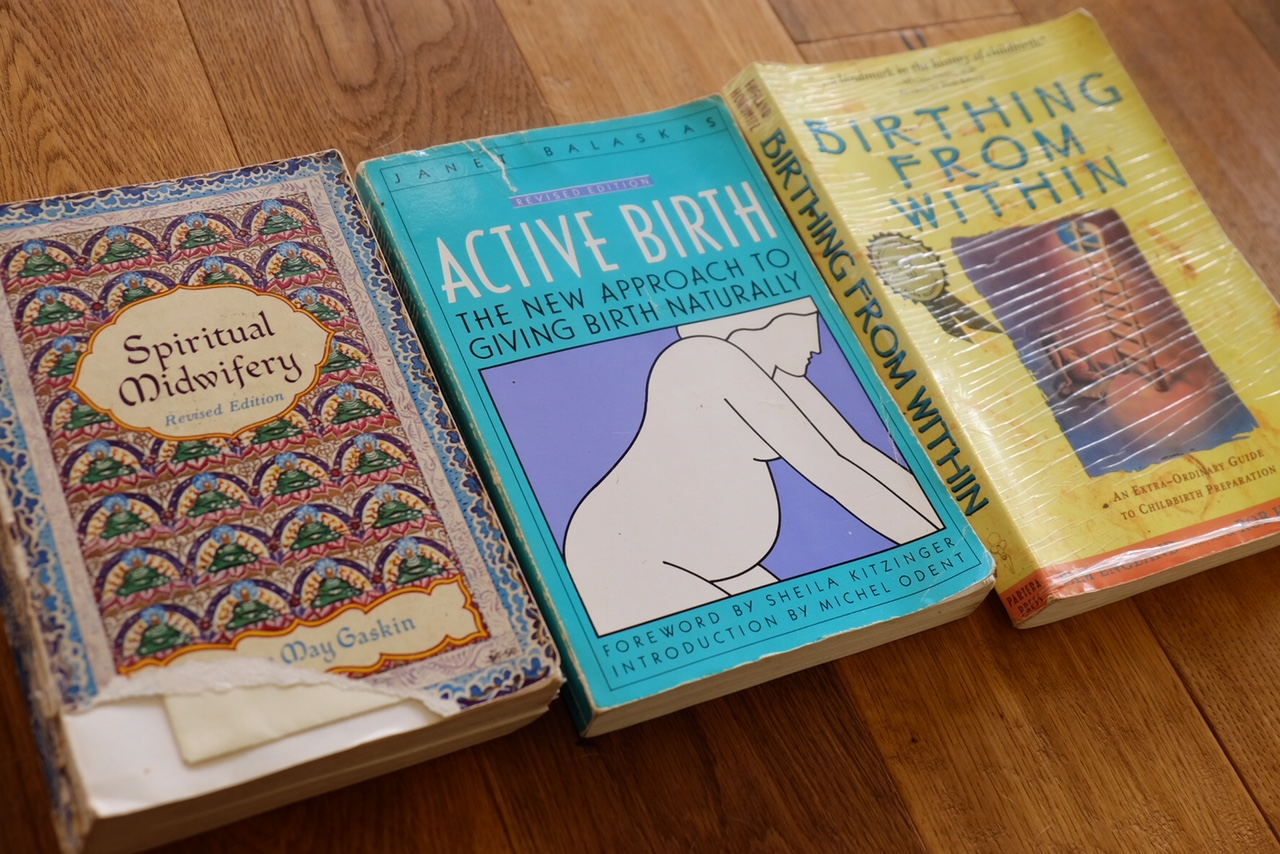 best books to pump up your labor conifdence. you can do it!