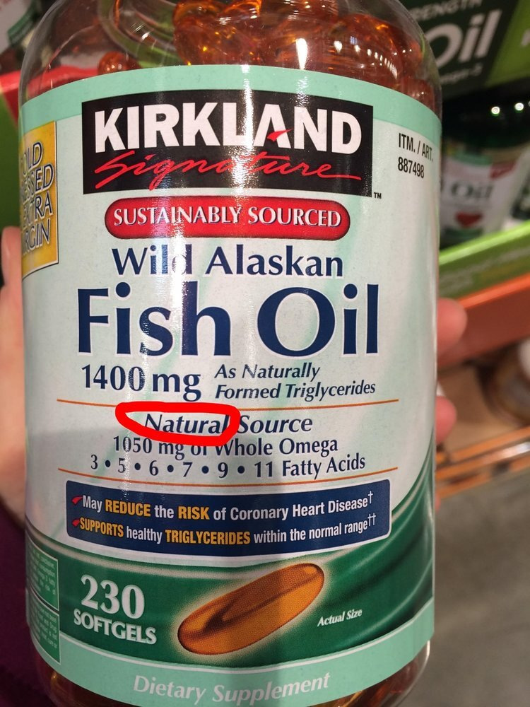 yes it's cheaper, but it's better to take nothing at all than to take rancid, heat processed fish oils.