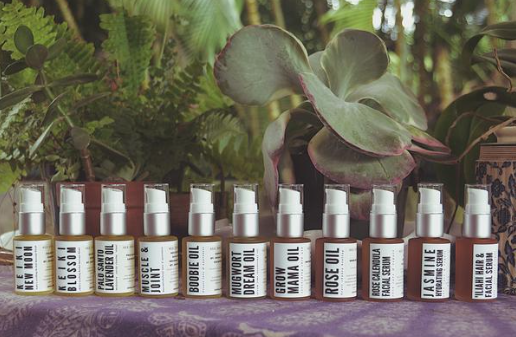 """Keiki new moon oil was a god-send for us. blended with calming calendula and comfrey, this was our """"scent signal"""" that sleep was near."""