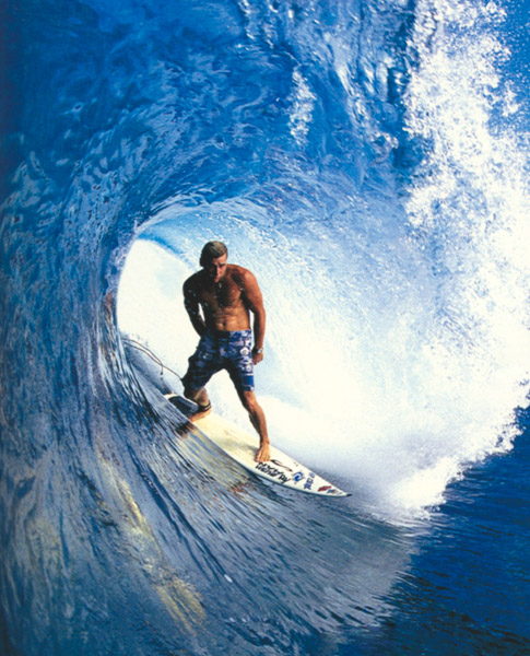 """Pancho Sullivan Professional Surfer, North Shore O'ahu   """"I use Red Muze pre surf to prevent rash. It helps me enjoy more time in the water without feeling the burn of chafed pits."""""""