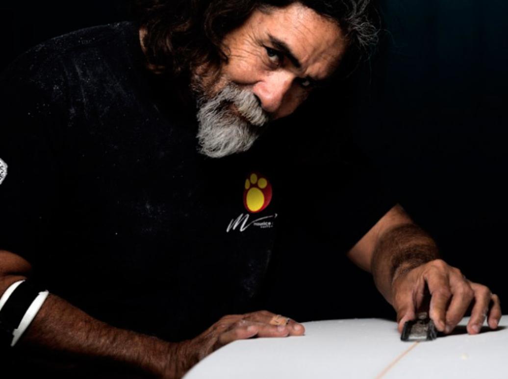 Maurice Cole  Shaper / Surfer / Survivor   Follow Maurice on Instagram