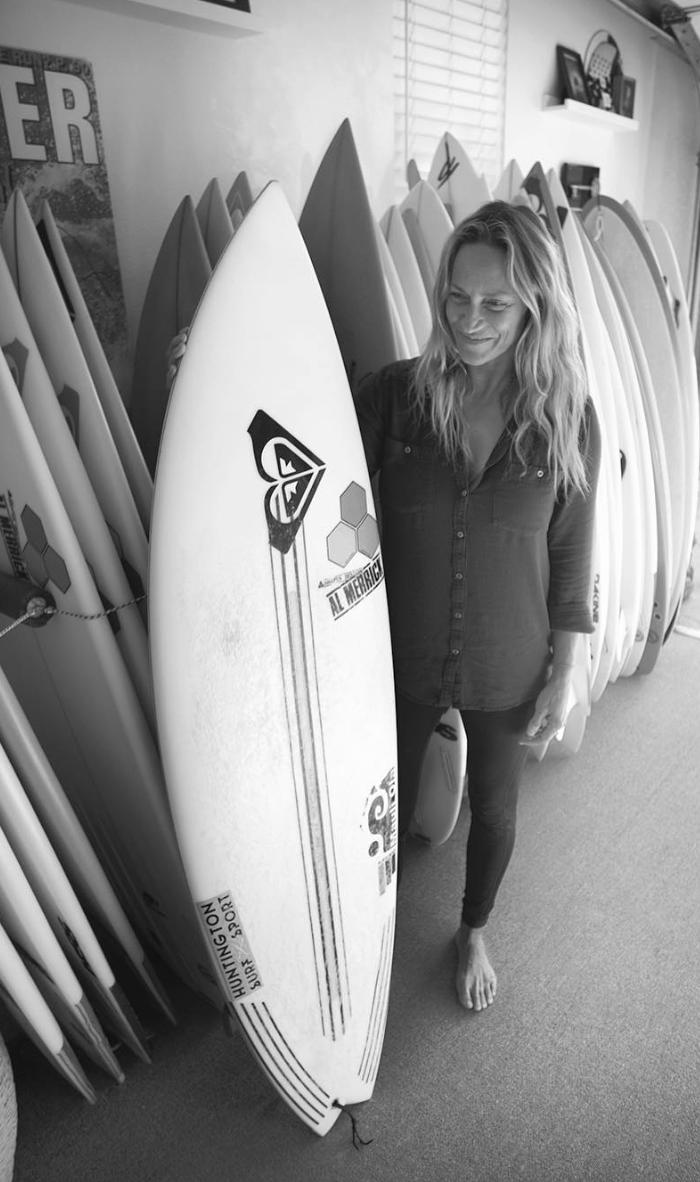 Lisa Andersen  4x World Champion / Trailblazer    Follow Lisa on Instagram