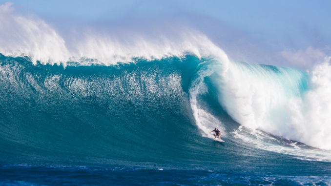 """Trevor Carlson   Big Wave Charger / Triathlete / Waterman,  North Shore O'ahu   """"I use Red Muze on my pits and on my neck whenever I surf in a wetsuit. I also use it on my pits when I swim without a suit. It helps prevent rashes and leaves your skin feeling good."""""""