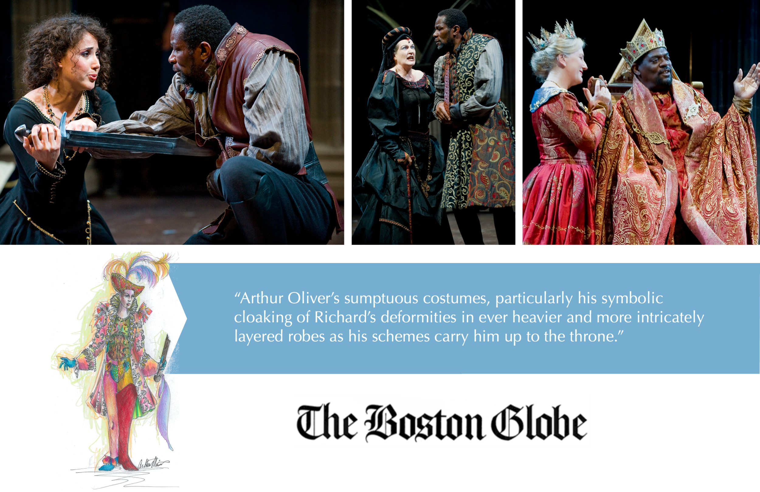 The Boston Globe Costume Designer Arthur Oliver