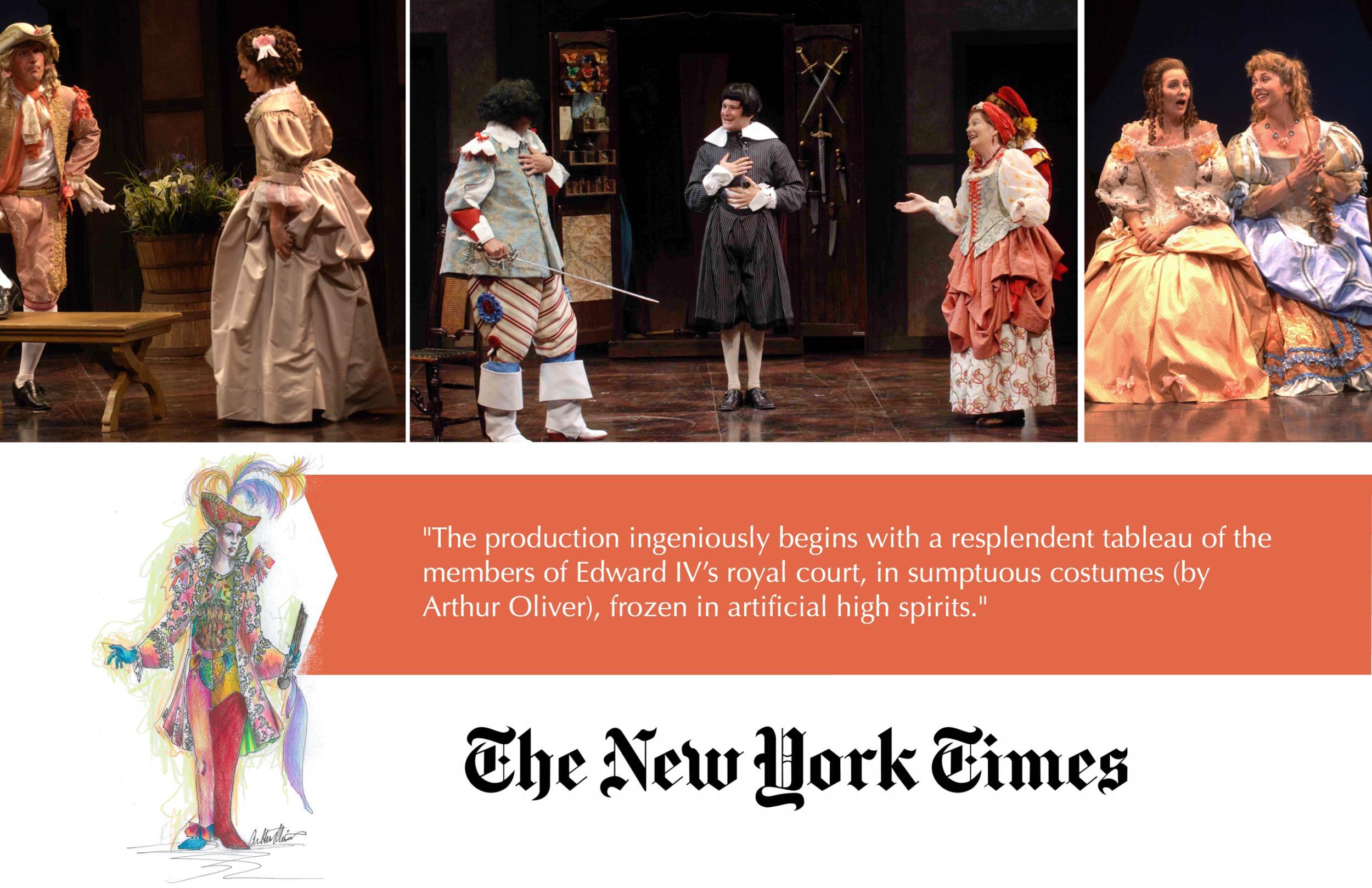 New York Times Costume Designer Arthur Oliver