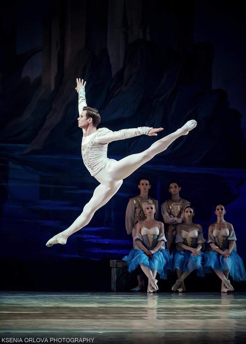 SWAN LAKE Oleksii Potiomkin, Siegfried, National Opera of Ukraine