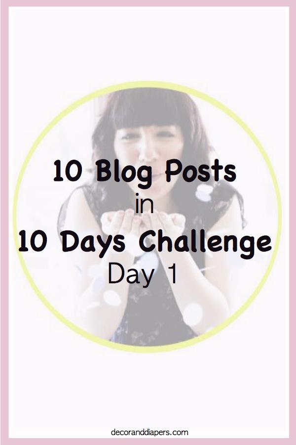 10 Blog Posts in 10 Days Challenge