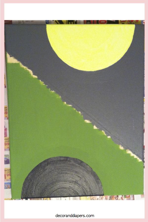DIY Painted Canvas Artwork: Part 1