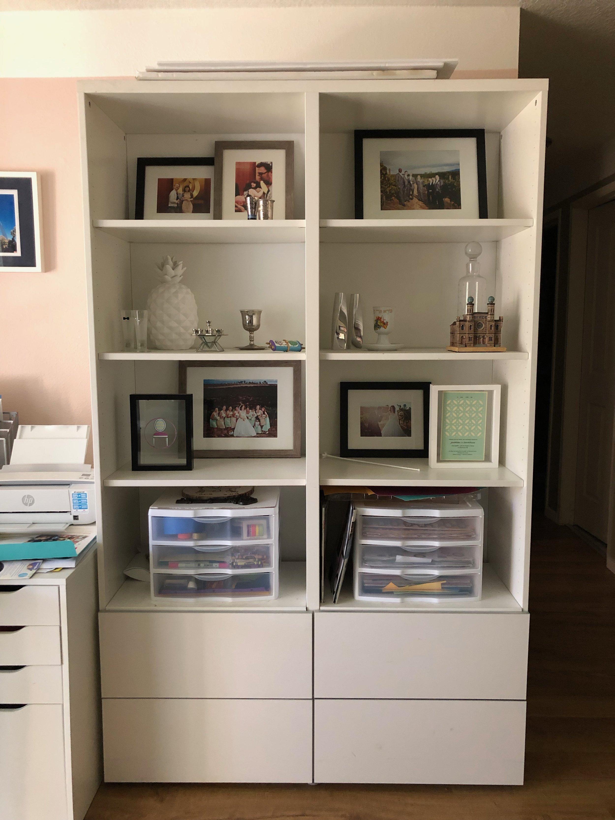 $100 Room Challenge, Wk 1: My Workspace- Before Photos