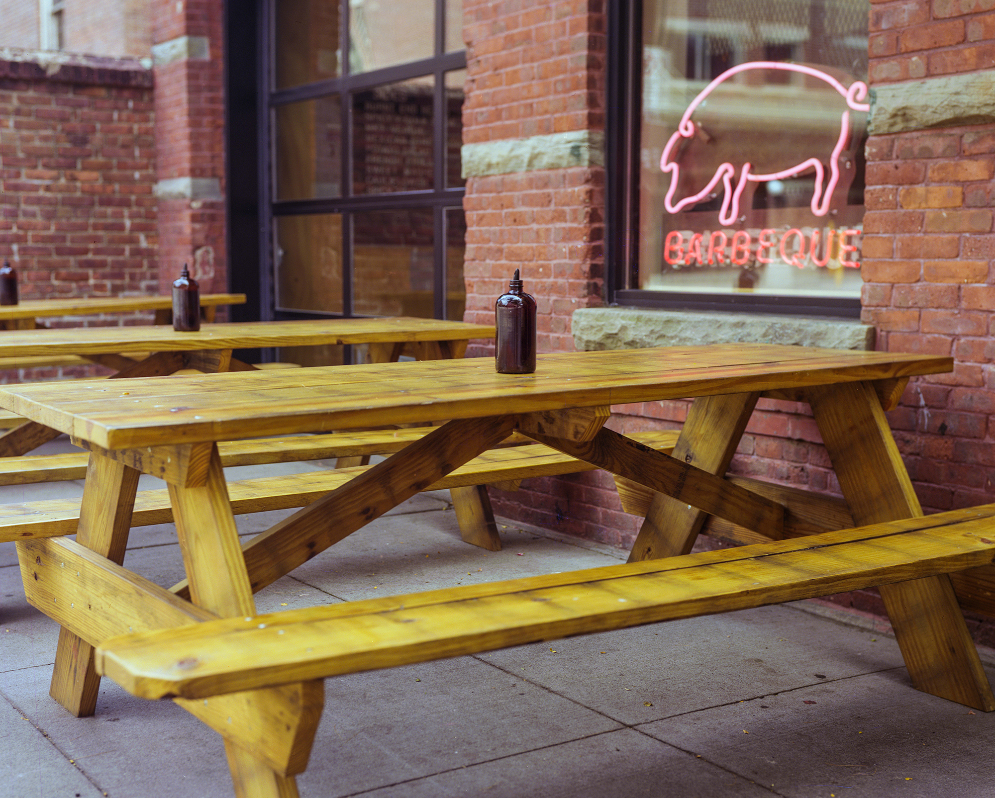 Custom Pressure-Treated Picnic Tables