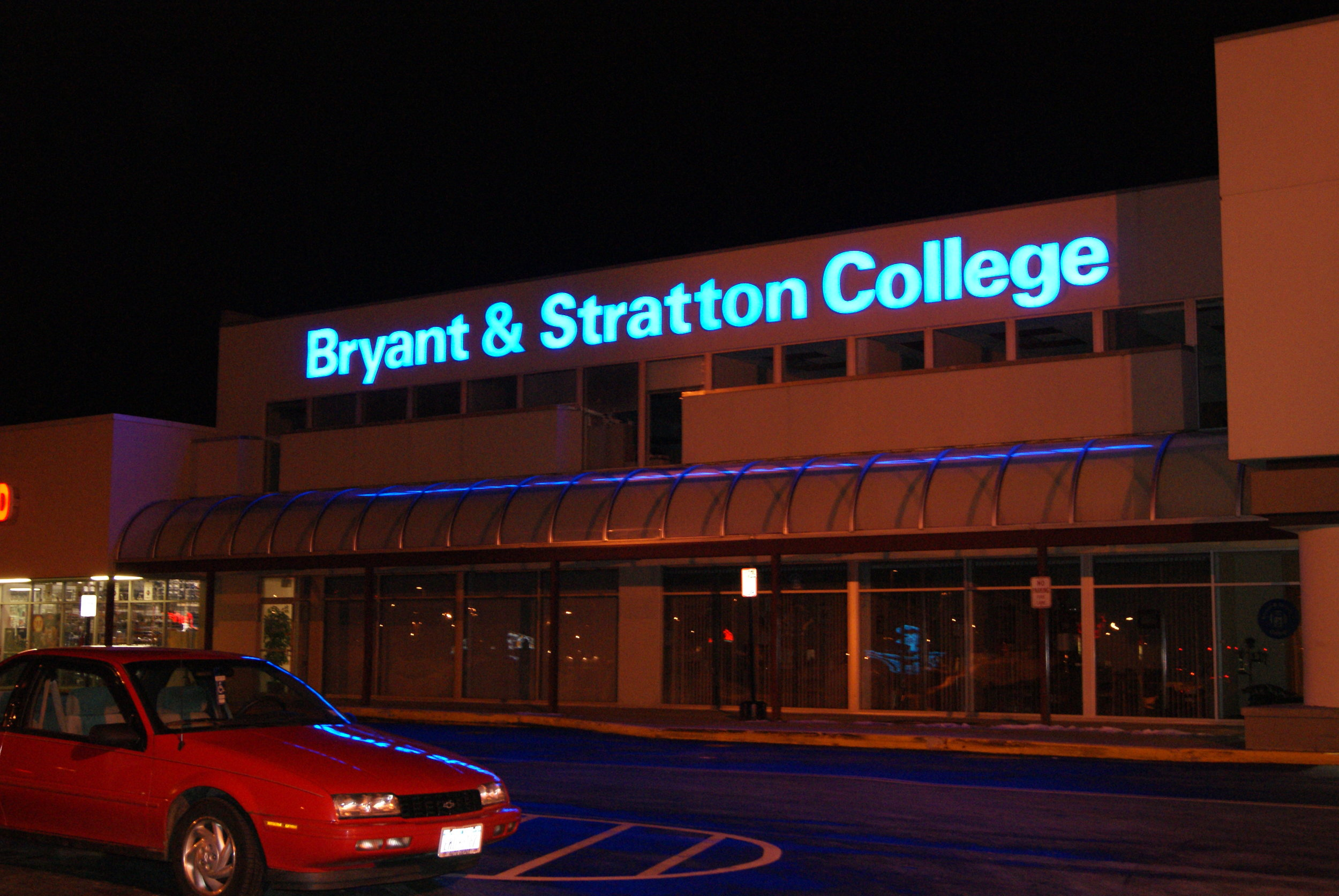 Bryant & Stratton night 2.JPG
