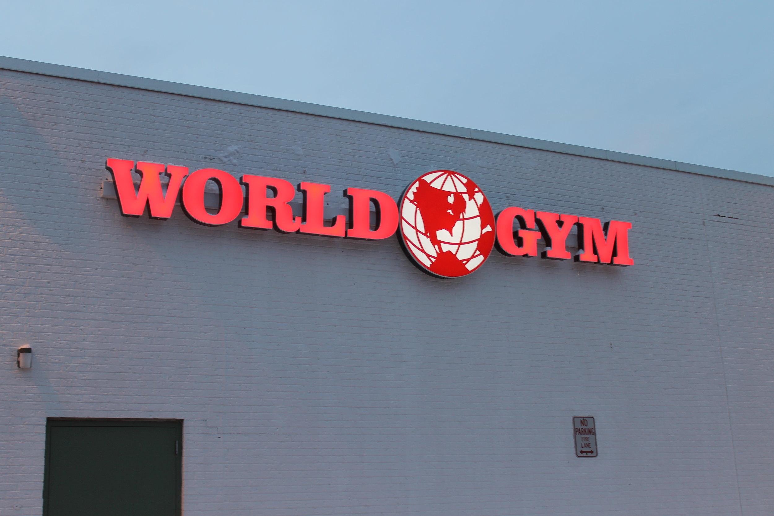 World Gym Exterior raceway .JPG
