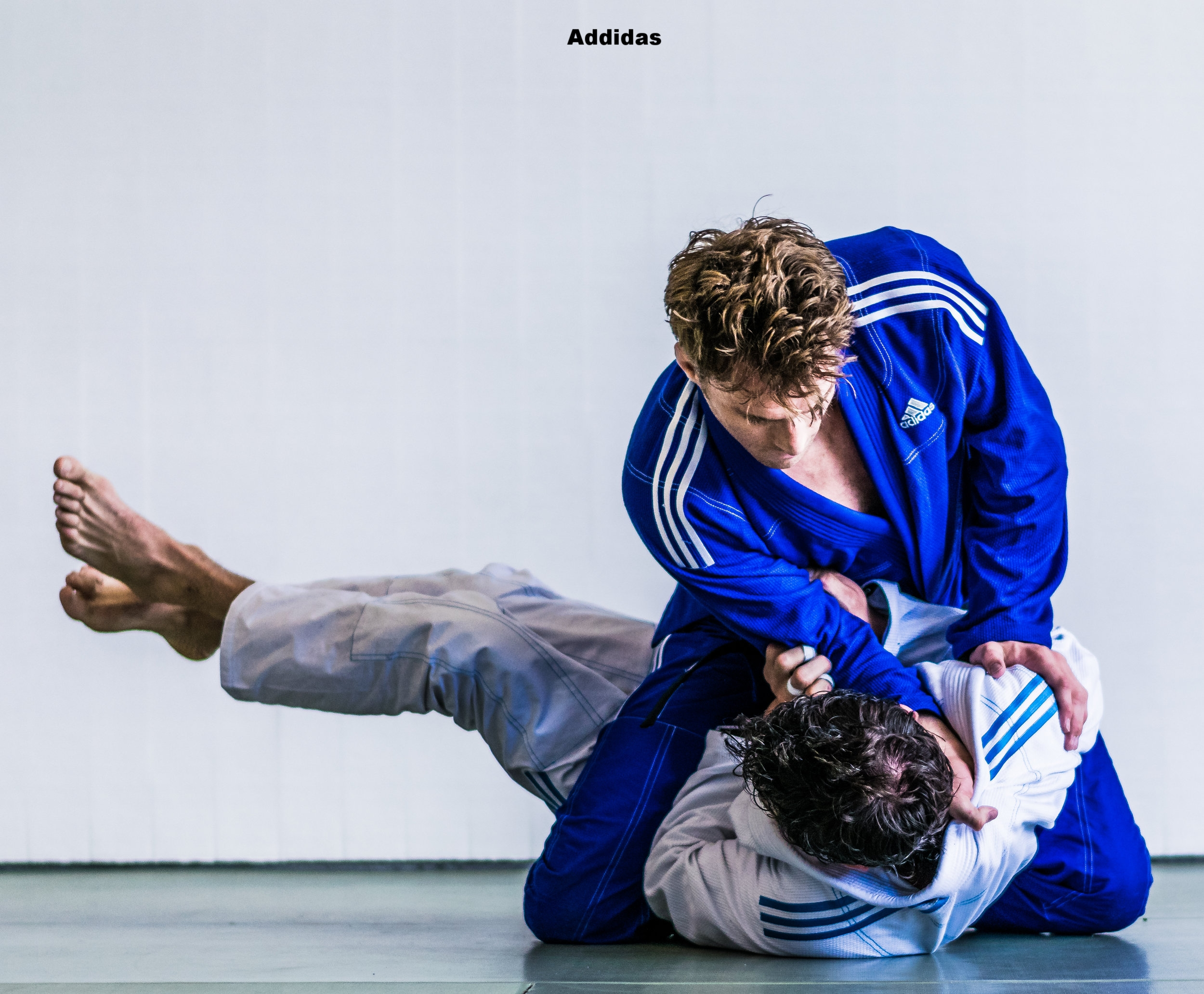 Addidas with Clark Gracie