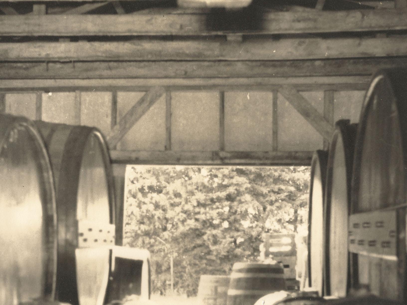 Original Mazurans wine cellar 1940s