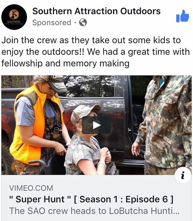 👆🏻LINK IN BIO🔴EPISODE 6🔴 is up and boy does it hit home. Join the crew as we take on the Super Hunt in Mississippi 2017. You won't want to miss this one. 🔴LINK IN BIO🔴 #SAOfamily • #SAOnation • #Hunting • #DeerHunting • #Deer • #Oudoors • #Outdoorsman • #Mississippi