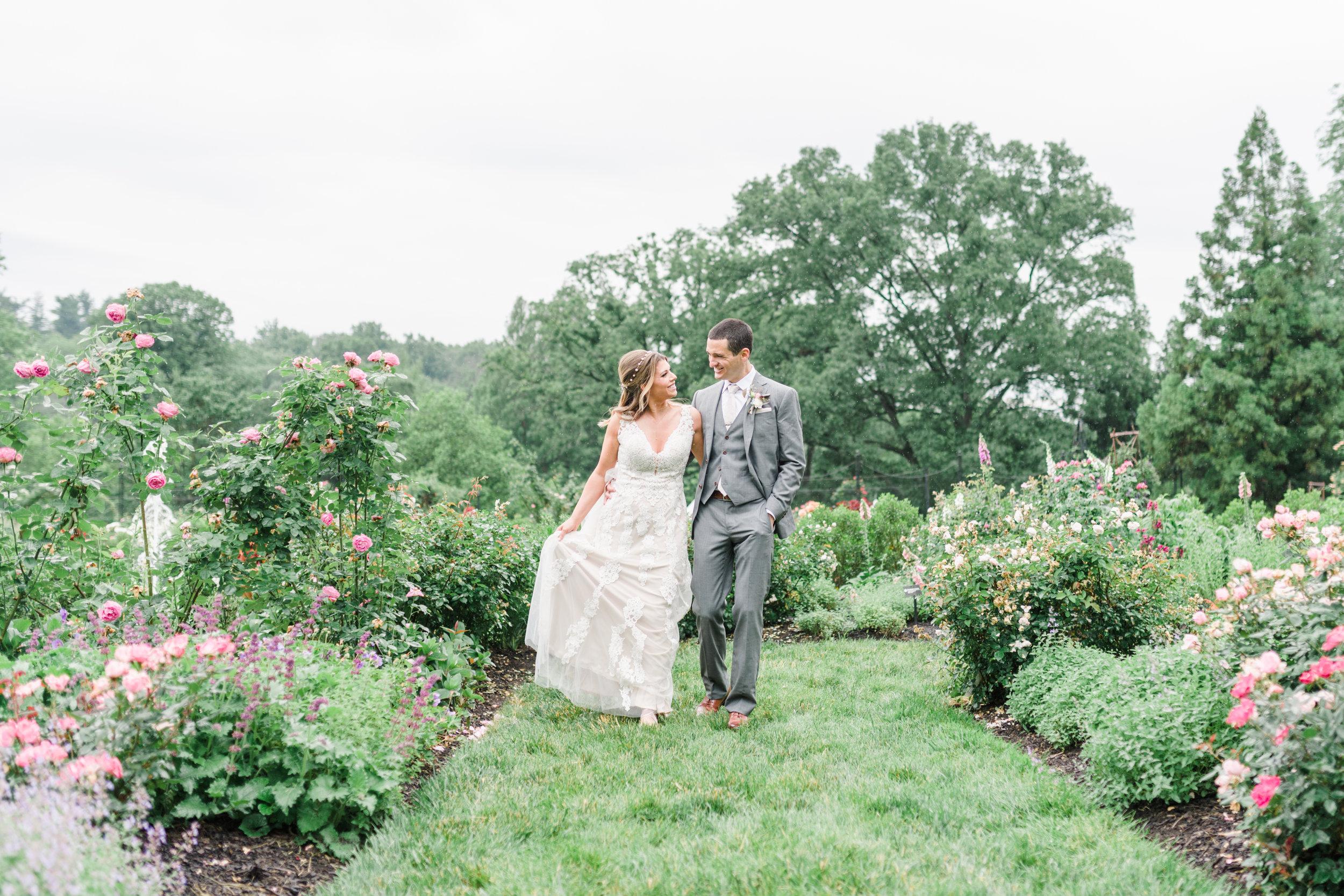 Heather + Will | Morris Arboretum of the University of Pennsylvania | Phila, PA
