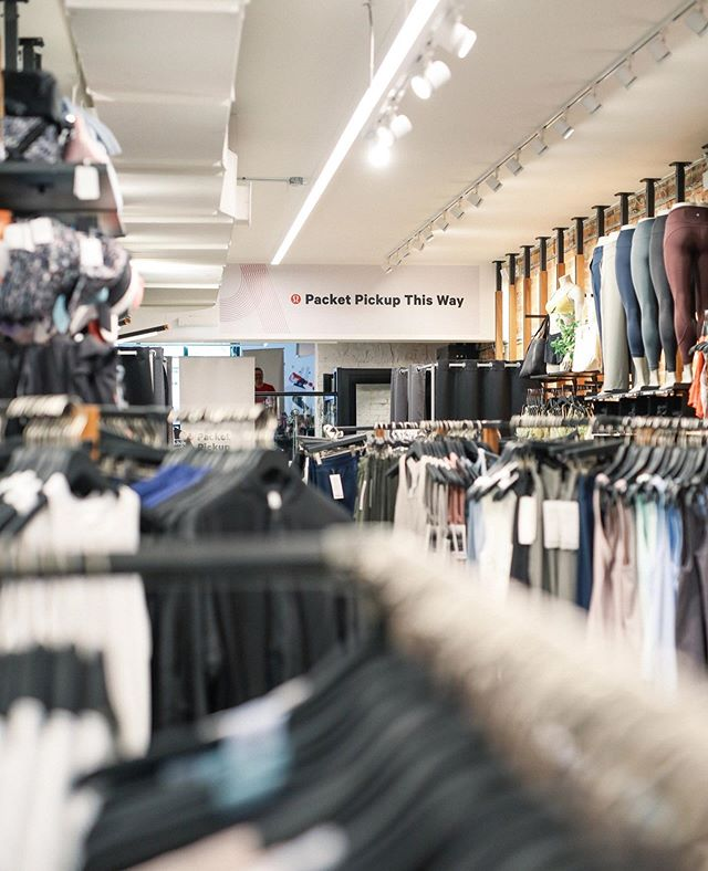 Keep calm, the countdown is on. Package Pickup for the lululemon Toronto 10K starts today at our Queen St. store. We're sharing everything you need-to-know in our Story. #thesweatlife