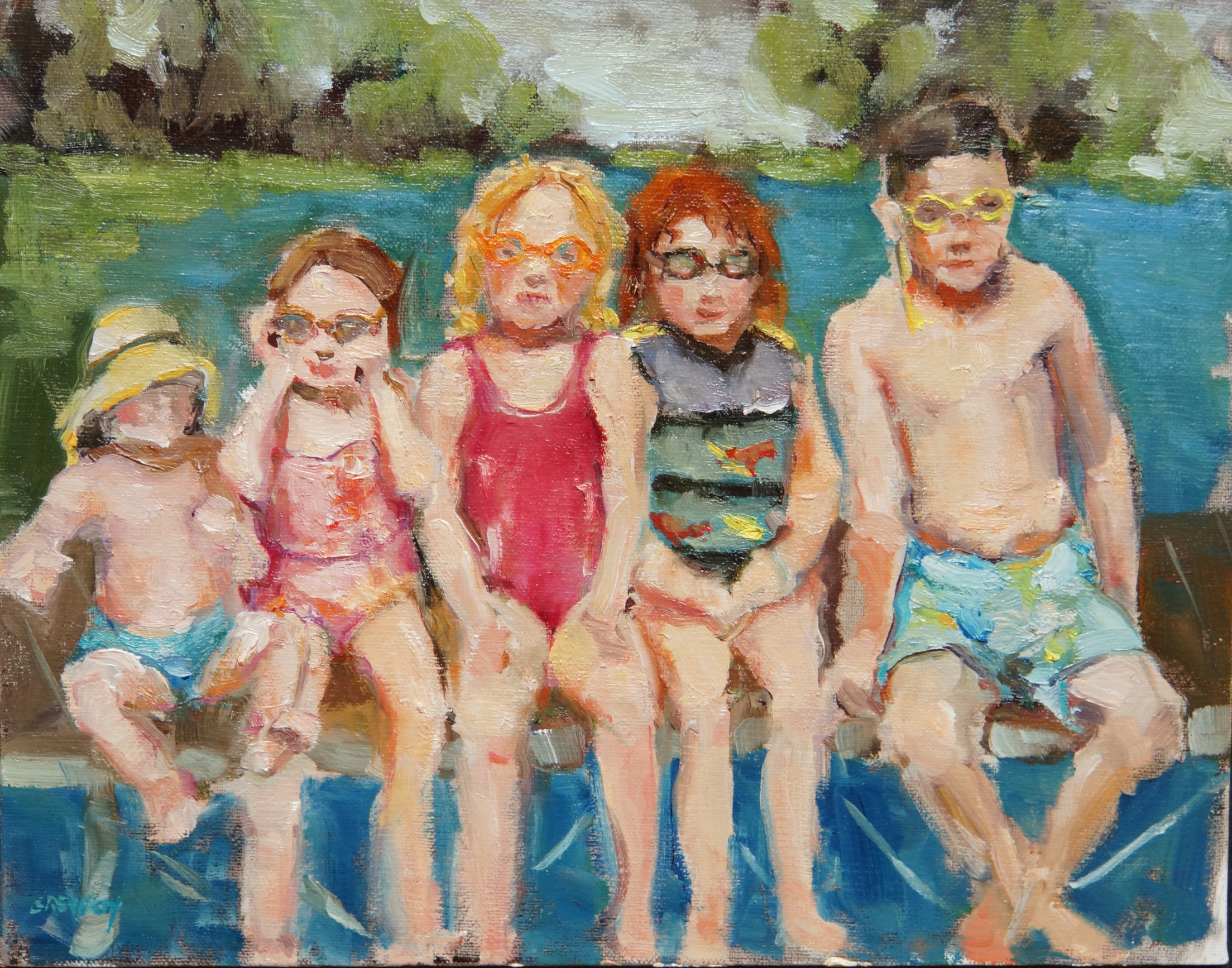 Family Affair Oil on Linen Panel  8 x 10.jpg